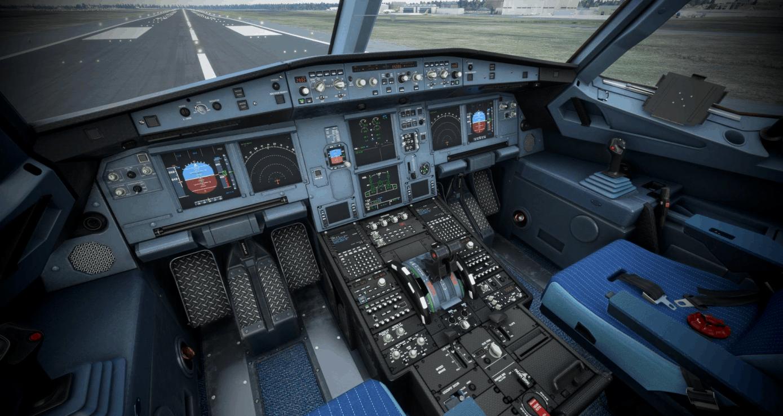 A320 Neo Repaint + Wingman - Carbon Design Cockpit v1.0 ...
