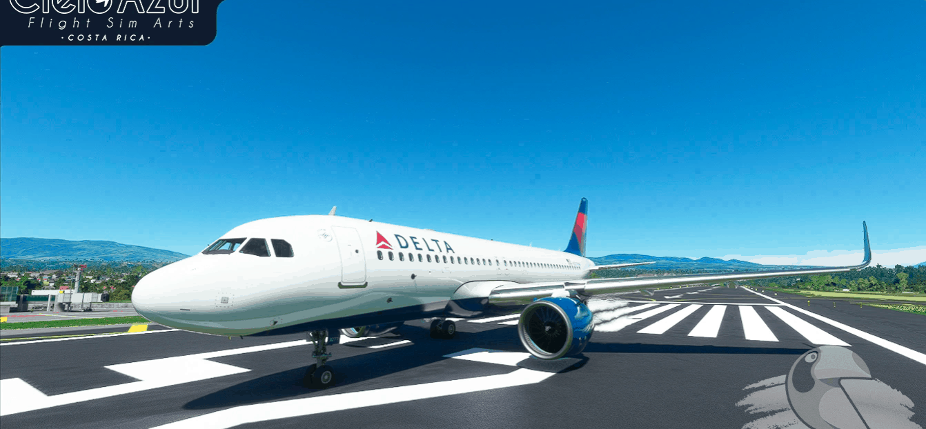 Delta Air Lines   N377NW   Asobo Airbus A320neo (8K) v1.0 ...
