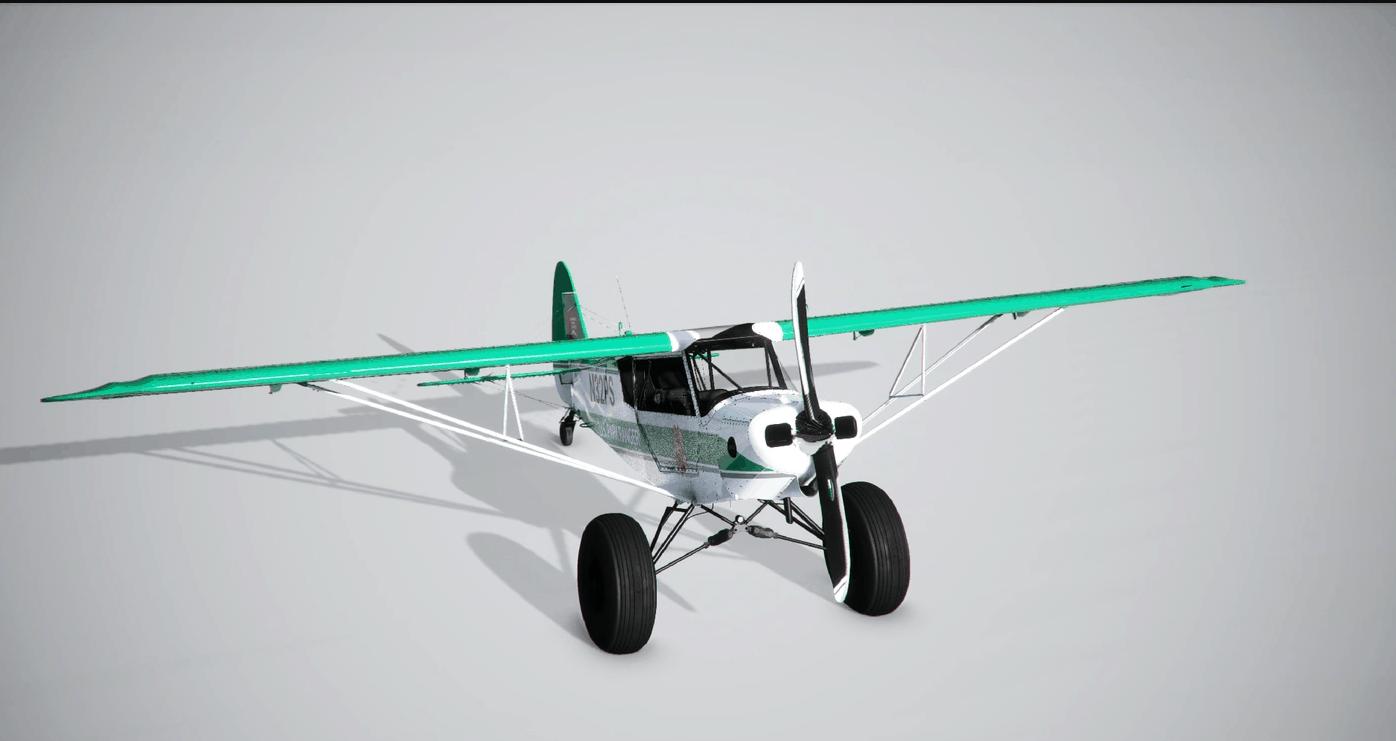 EA 2021 U.S. National Park Service Ranger Plane Mod for ...