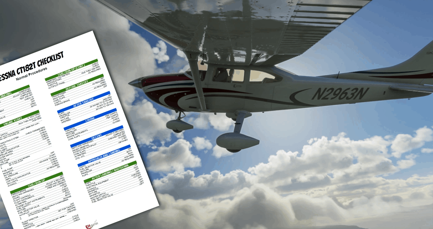 Cessna CT182T Checklist v1.0 - MSFS2020 Other Mod